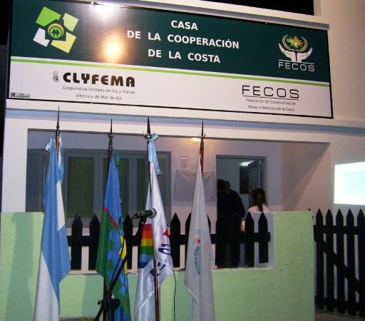 Se inauguró la Casa de la Cooperación de La Costa en Mar de Ajó