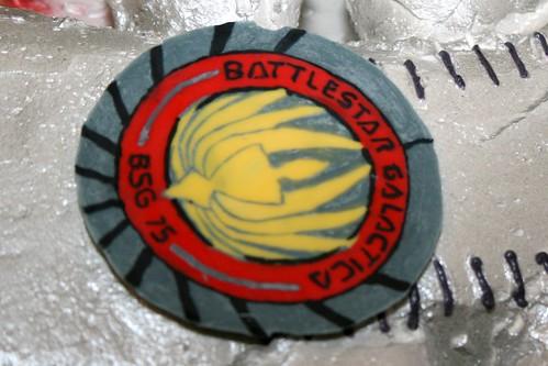 Battlestar Galatica Edible Emblem