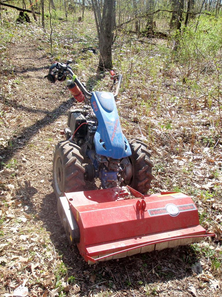 BCS tractor