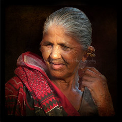 La Celestina Gujarati (designldg) Tags: portrait people woman india eye smile colours expression atmosphere panasonic human soul elder varanasi chiaroscuro kashi dignity benaras humility clairobscur femininity uttarpradesh  mywinners indiasong dmcfz18 hourofthesoul