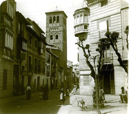 Iglesia de Santo Tomé (Toledo) a principios del siglo XX