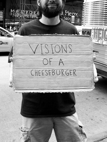 Visions of a Cheeseburger, NYC