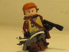 Post Apoc fig (antha) Tags: gun lego flame prototype pistol custom brickarms