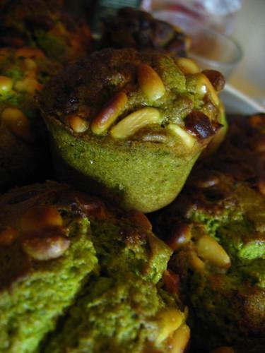 Muffins de thé vert