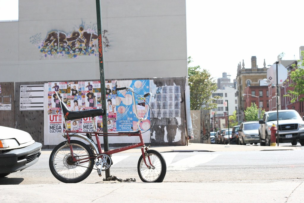 Chopper Bike, Bedford Avenue, Brooklyn, New York