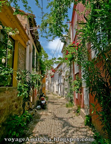 Old Ayvalik Street by voyageAnatolia