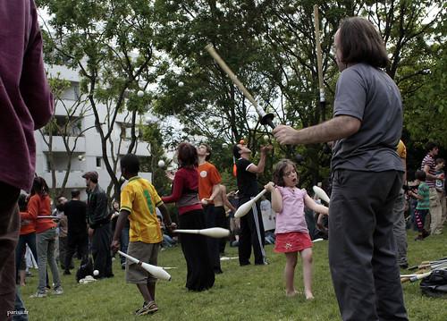 Les enfants participaient à cette joyeuse fête