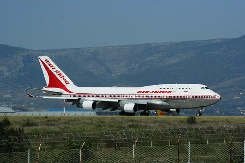AIR INDIA 747-400 VT-ESN(cn1003)