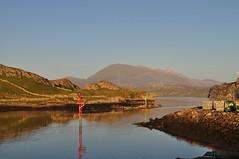 Fionaven (Niseag) Tags: mountain scotland dusk hill sutherland kinlochbervie fionaven