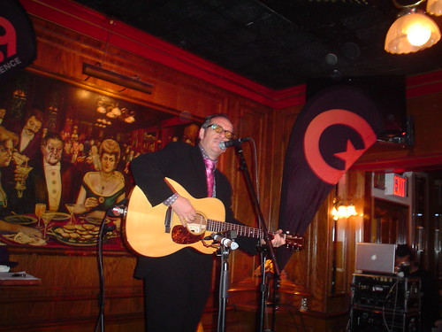 Elvis Costello at Jim Brady's