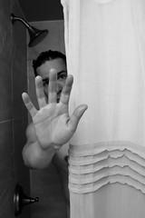 325/365 Not tonight, not in the mood! (Paguma / Darren) Tags: portrait selfportrait man male me shower 365days tamronspaf1750mmf28xrdiiildasphericalif 365nudes