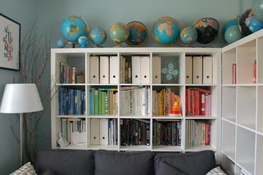 shelves of our house by you.