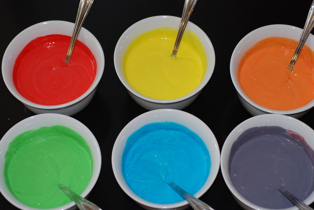 Cake Mix Complementary Colors