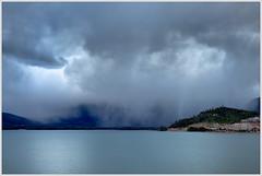 Approaching Rainstorm On Lake Dillon (glness) Tags: lake storm mountains rain colorado co rainstorm dillon breckenridge frisco summitcounty lakedillon silverthorne exposureblend thunderstrorm gregness