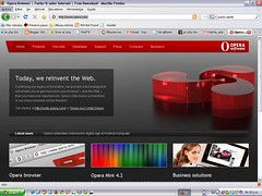Opera lanza browser con servidor web incorporado