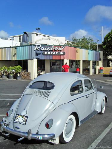 The ever famous Rainbow Drive-In - Honolulu Hawaii
