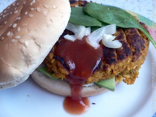 Sesam-Karotten Burger 002