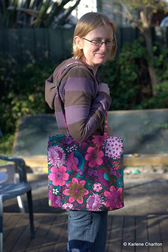 Raewyn's bag