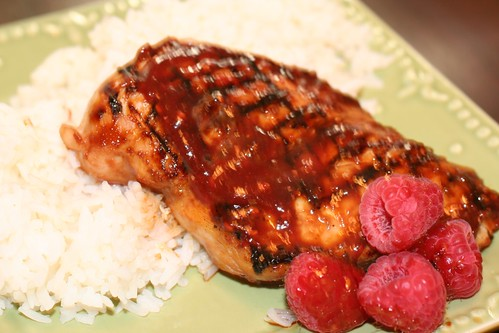 Raspberry Hoisin Chicken