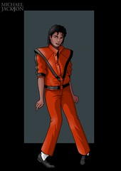 michael jackson by nightwing1975 (Marvel DPS) Tags: michael king pop jackson the deviantartcom of 19582009