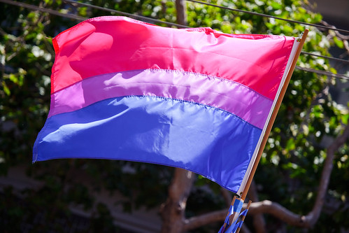 The bisexual pride flag