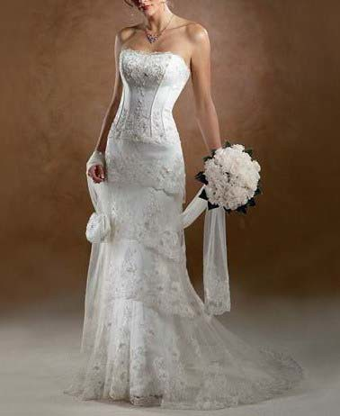 wedding gowns lace