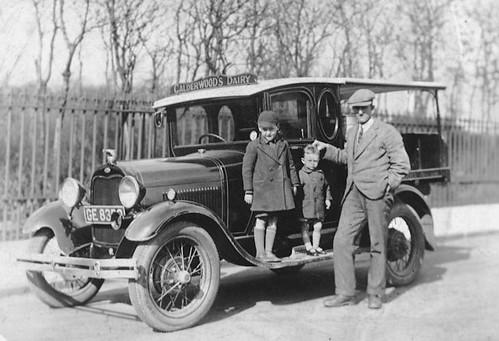 Andrew Calderwood, 1932.