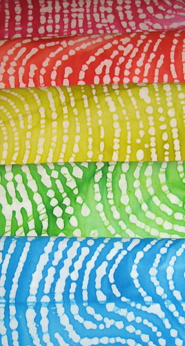 Fingerprinty-looking batiks!