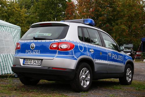 Polizei Sachsen - VW Tiguan