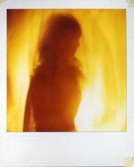 (preeti moon roka) Tags: light dark polaroid sx70 spirit ghost mystical