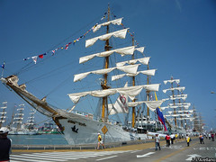 Tall ships visit Callao as part of Latin American bicentennial