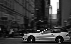 IWC. (Ian Altamore.) Tags: nyc white d50 ian mercedes nikon driving convertible matte amg iwc sl63 altamore ianaltamore