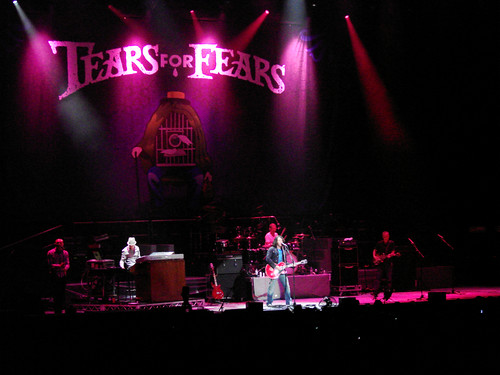 Tears for Fears in concert, Sydney - 4