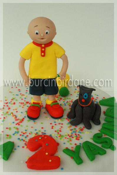 Caillou Cake 1