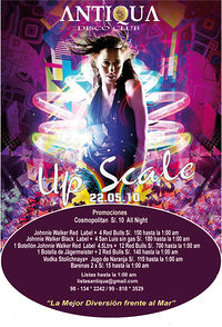 Up Scale - Antiqua Disco Club