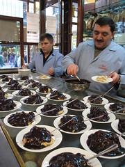 Profiteroles - Inci Pastanesi, Istanbul, Turkey