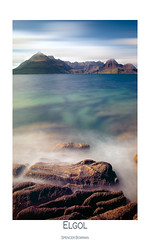 Elgol, Scotland. (Spencer Bowman) Tags: longexposure summer seascape mountains scotland isleofskye cuillins elgol fantasyisland lochscavaig takeaview blackcuilins poty2010
