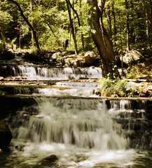 Collins Creek 2 (Mark Tenney) Tags: blur water rural waterfall nikond50 arkansas greersferry littleredriver mywinners platinumphoto collinscreek