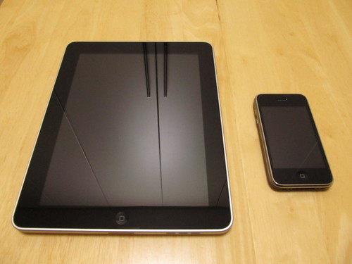 iPad and iPhone 3G