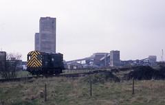 08727 Killoch Colliery 14-4-89 (Brian Daniels) Tags: class 08