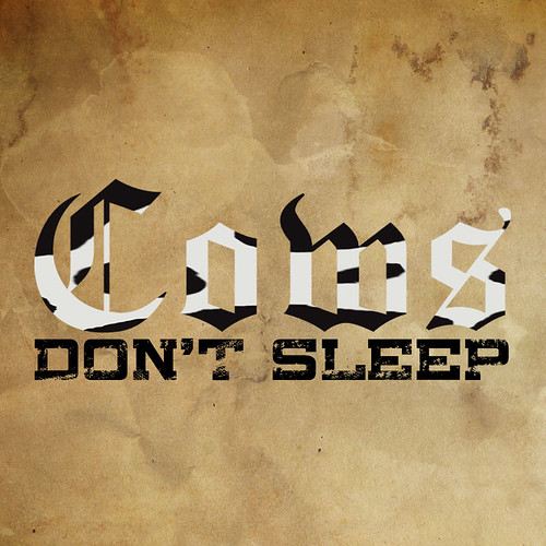 Cows Don't Sleep -Logo.
