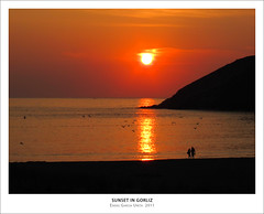 SUNSET IN GORLIZ (Eneko Garcia) Tags: sunset beach playa puestadesol gorliz canons90