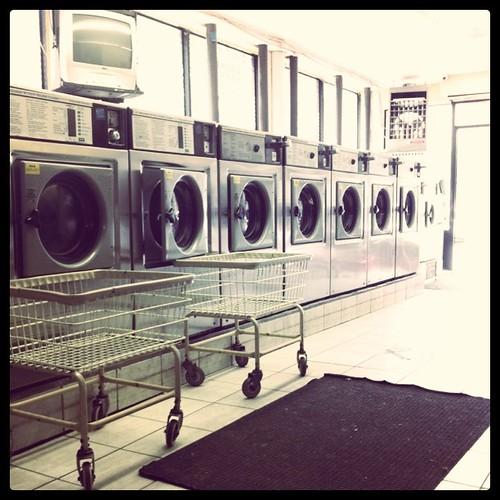 Sunday morning laundry.