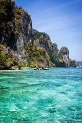 Koh Phi Phi, Thailand (JGMarshall Photography) Tags: ocean travel sea holiday green water thailand photography interesting asia paradise joe marshall adventure tropical andaman khophiphi joemarshall jgmarshall
