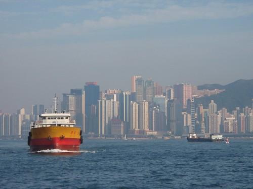 Hong Kong desde el agua