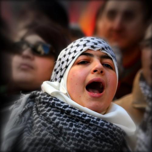 Gazing towards Gaza