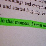 'And in that moment, I swear we were infinite.'