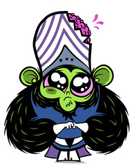 mojo jojo (jublin) Tags: girls anniversary cartoon network mojo villain jojo powerpuff littlem