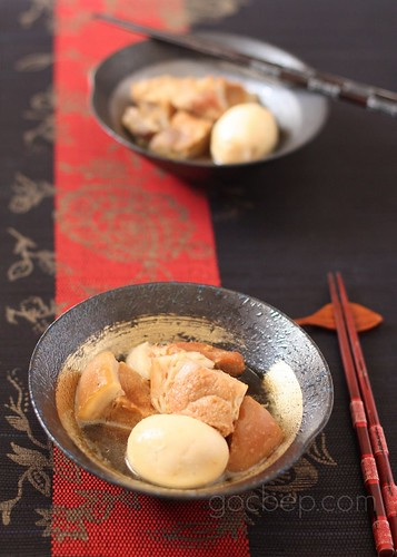 Vietnamese pork stew-Thịt kho tàu