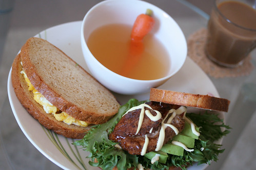 sandwich brunch